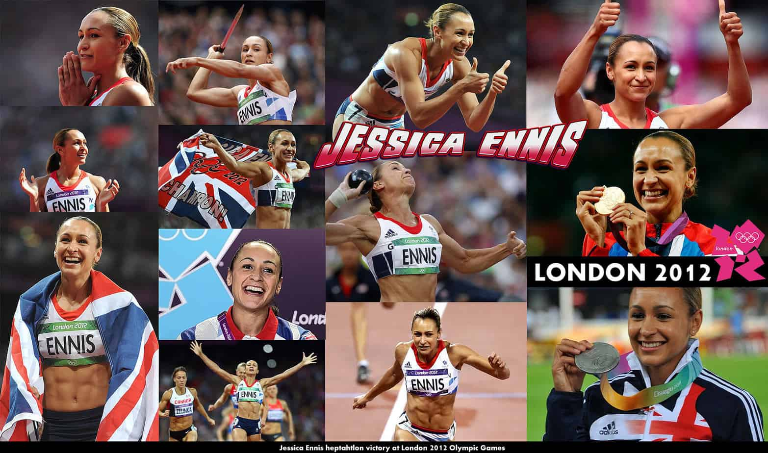 Jessica Ennis Wallpaper 2012